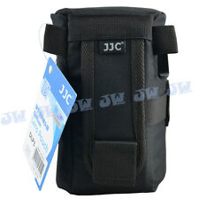 JJC DLP3 M1 Weather-resistant Nylon Deluxe Case Pouch for DSLR Lens Below 160mm