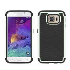 Housses et coques anti-chocs blancs en plastique rigide pour téléphone mobile et assistant personnel (PDA) Samsung