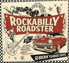 ROCKABILLY ROADSTER - 2 CD BOX SET - GENE VINCENT, EDDIE COCHRAN & MORE