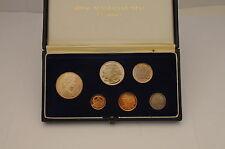 1966 Australian 6 Coin Proof Set - 1c, 2c, 5c, 10c, 20c, 50c - Royal Mint - (4)