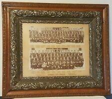 """1896 KANSAS CITY POLICE DEPARTMENT PHOTO Framed 30"""" ORIGINAL KCMO RARE ANTIQUE"""