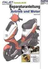 Reparaturanleitung RIS für Italjet Formula 25/50, Antrieb und Motor