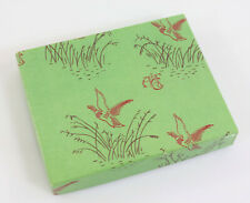 Abercrombie & Fitch Co. Vintage Duck Hunting Theme Green Cardboard Box 70s-80s