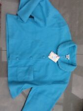 LADIES BED JACKET BRAND NEW BLUE SIZE 24/26 HOSPITAL HOME HOUSE NIGHTWEAR