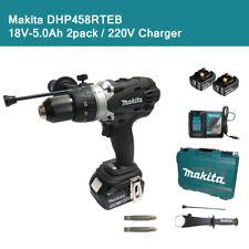 Makita DHP458RTEB Cordless Hammer Drill Driver 18V 5.0Ah 2pack /220V Charger