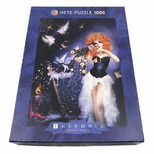 Heye Puzzle 1000 piece Insomnia by Katrina Sokolova 48x68cm Germany