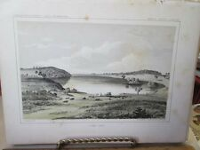 Vintage Print,PIKE LAKE,Exploration Mississippi R.to Pacific,1853-55