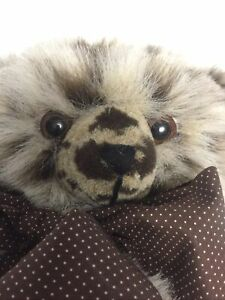 Teddy Bear Wind Up Musical Bear Pleasure By Doris Cadwallader Plush Artist