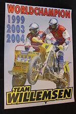 Poster WSP Zabel Sidecar Cross 2005 #1 Willemsen (NED) / Verbrugge (BEL) WC (HW)