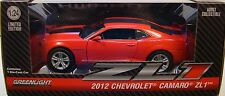 GREENLIGHT COLLECTIBLES 1:24 SCALE DIECAST METAL RED 2012 CHEVROLET ZL1 CAMARO