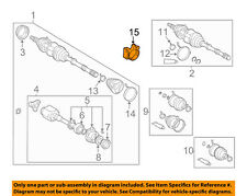 TOYOTA OEM Drive Axles-Front-Bracket 4345742010