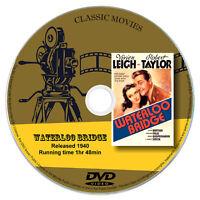 Waterloo Bridge - Robert Taylor, Vivien Leigh - Drama, Romance, War 1940 DVD