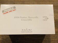 Danbury Mint 1:24 1959 Pontiac Bonneville Convertible Cameo Ivory W/ Papers!
