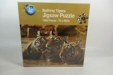 Bathing Tigers Jigsaw Puzzle  1000pcs By Grafix Brand new and Sealed  Free post