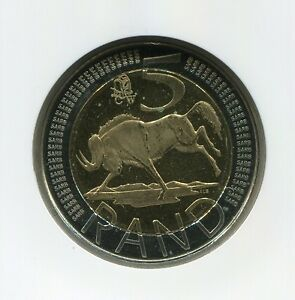 South Africa Oom Paul Coin World Mint Mark 2007 R5 Coin NGC Graded MS66