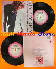 LP 45 7''SIMPLY RED If you don't know me por ahora Move on out 1989 italia cd mc