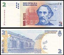 Argentina 2 PESOS Serie K ND 2012 P 352 UNC
