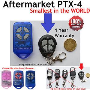 Garage Door Remote Control Compatible with ATA GDO4V3 GDO4V4 GDO4V5 GDO4V6