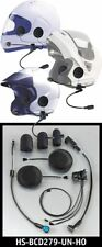 J&M Headset 279 Series Plus Lower Cord HC-PJM for BMW's & JM CB Radio Set Up