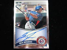 2011 Topps Chrome Ben Revere rookie autograph  Phillies  Twins  # 175