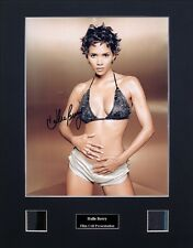 Halle Berry Ver2 Signed Photo Film Cell Presentation