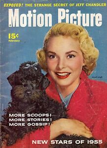 1955 Motion Picture February - John Wayne; Marlon Brando; Guy Madison; J Leigh