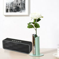 Wireless Bluetooth Speaker Super Bass Outdoor Stereo Speaker With HD FM Audio