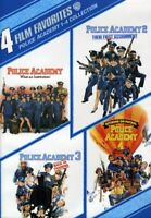 4 Film Favorites: Police Academy 1-4 Collection [New DVD] Full Frame, Widescre