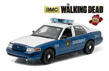 GREENLIGHT 1:18 THE WALKING DEAD FORD CROWN VICTORIA POLICE INTERCEPTOR 12957