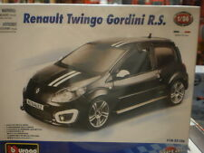 RENAULT TWINGO GORDINI R.S. MAQUETA KIT METALICO 1/24 BURAGO