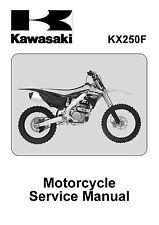 Kawasaki service workshop manual 2013 & 2014 KX250F