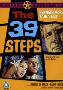 The 39 Steps (Kenneth More, Taina Elg, Brenda De Banzie) Thirty Nine Reg 2 DVD