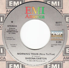 "Sheena Easton 45 rpm ""Morning Train (Nine To Five)"""