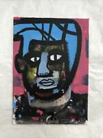 Hasworld Original Signed Painting Abstract Zombie Art Graffiti  Expressionist
