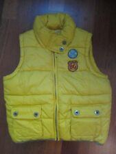 BADGIRLS  coole Weste gelb Gr. 140 Fleece-Futter