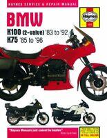 1983-1996 BMW K75 K100 K 75 100 2-Valve HAYNES SERVICE & REPAIR MANUAL 1373