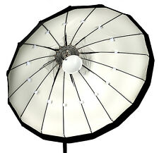 120cm Folding beauty dish, white, Lencarta/Bowens fitting