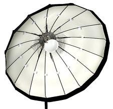 120cm Folding beauty dish, white, Lencarta/Bowens fitting