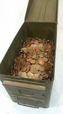Machine Sorted 700+ Copper Pennies Pre 82 Bullion 5 LBS Bulk Errors Wheats