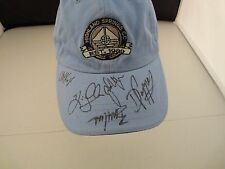 Travino Daly Beck Hass Kresge Signed Autographed  PGA Golf Hat PSA Guaranteed