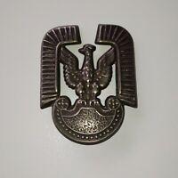 Poland - Polish cap badge Air Force Eagle - old eagle hussars wings
