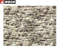 """NOCH H0/TT 57700 Mauerplatte """"Granit"""" 64 x 15 cm (1 m² - 35,32 €) - NEU + OVP"""