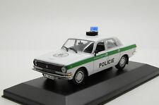 Rare !! GAZ Volga Wolga 24-10 Police Policie Czech Republic Code 3 1/43
