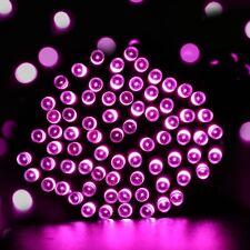 Solar Christmas 100 LED String Xmas Tree Fairy Lights Outdoor Waterproof Garden