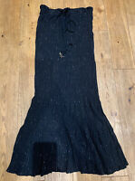 Womens Black, Silver Sparkle, BeachWear dress, Coverup,  Size 10, Worn Once