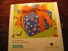 Canada 2006 Happy Birthday Gift Coins Set RCM Pack.