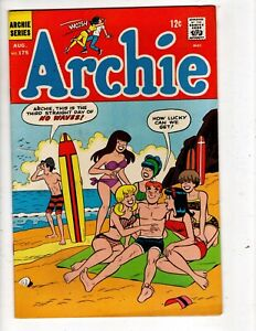 ARCHIE COMICS No 175 with BETTY, VERONICA, JUGHEAD, REGGIE and LI'L JINX