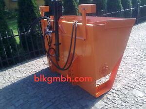 Kastenstreuer mit Teller für Schlepper Traktor Heckanbaustreuer NEU