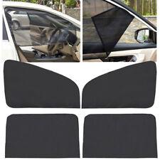 4Pcs Car Front Rear Side Window Sun Shade Curtain Visor Mesh Shield UV Protector