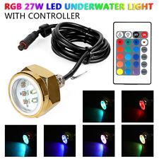 27W RGB LED Flutlicht Strahler Außenleuchte Scheinwerfer Wasserdicht für Boot